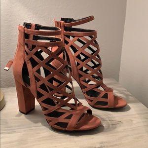 GUESS Eriel Pink Heels